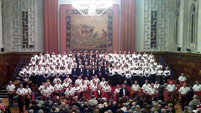 Plymouth Philharmonic Choir & Royal Marines Orchestra